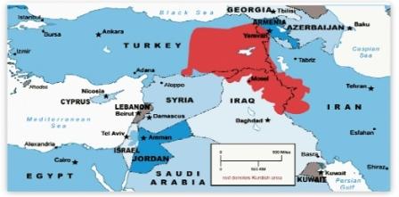 Bu haritada ABD kongresinden...