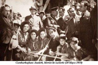 Atatürk Mersin'de...