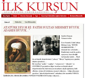 Atatürk ve Fatih Sultan Mehmet