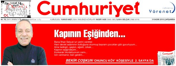 Bekir Coşkun, Cumhuriyet
