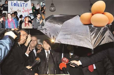 Yumurta Eylemi...