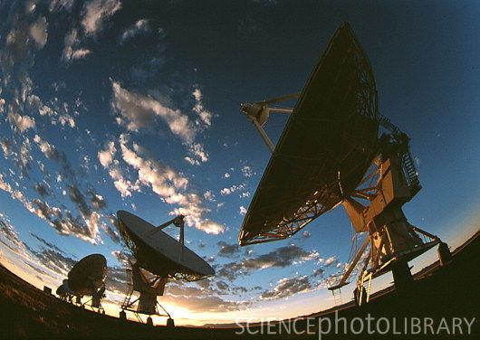 Kozmosu dinleyen radyo teleskoplar
