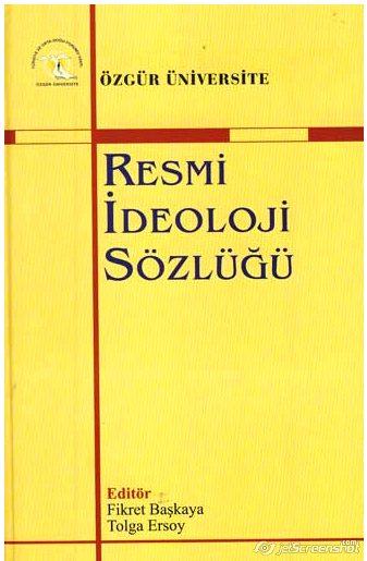 Resmi İdeoloji Sözlüğü...